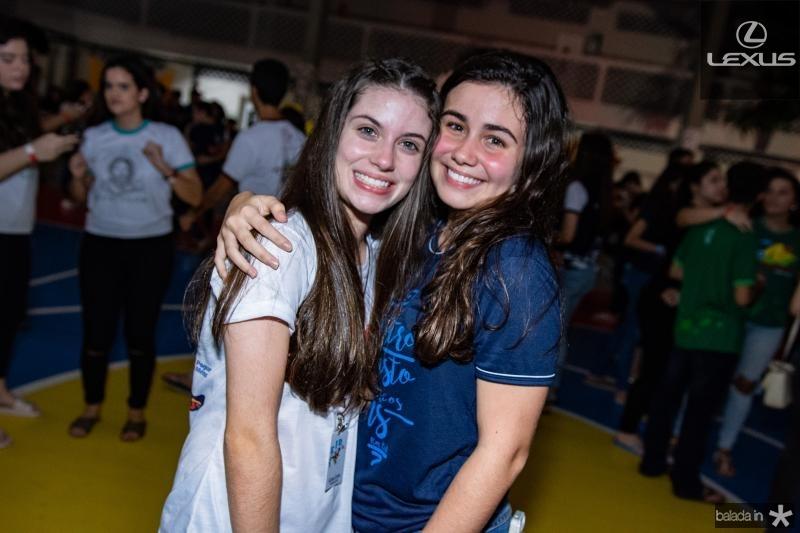 Livia Costa e Leticia Timbo