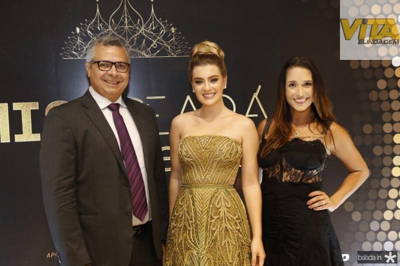 Jorge Regis, Teresa Santos e Talita Ribeiro