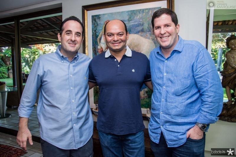 Leonardo Carneiro, Otilio Ferreira e Rodrigo Carneiro