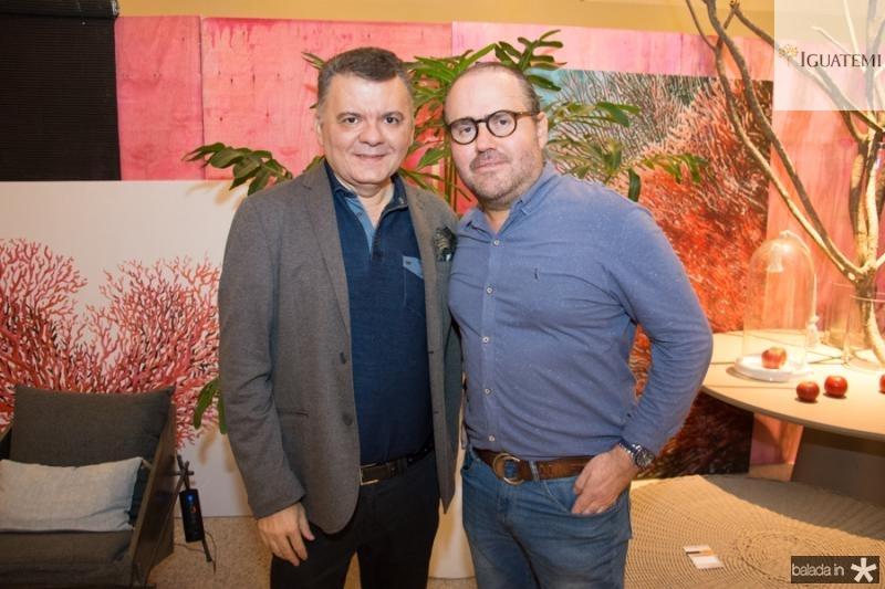 Omar Albuquerque e Roberto Pamplona