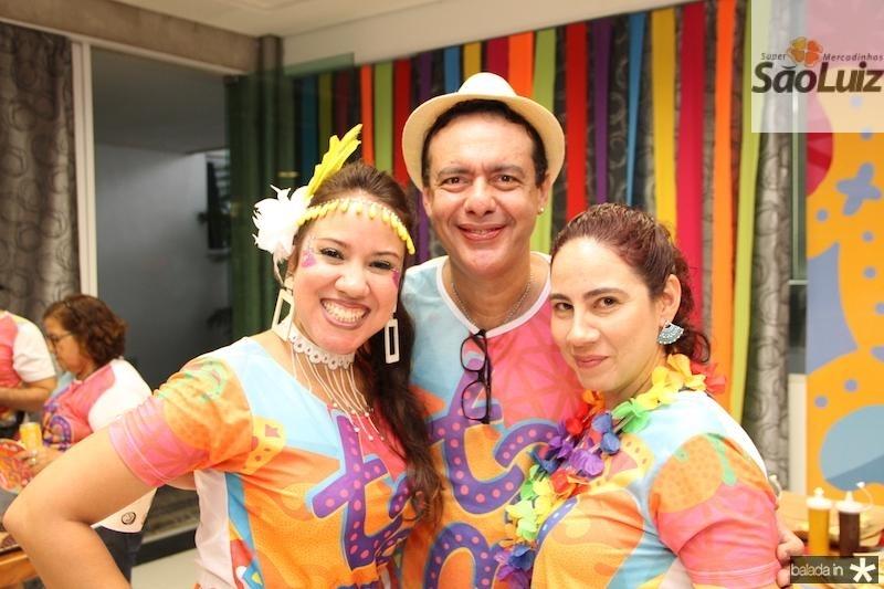 Aline Dayse, Deme?trio Andrade e Luciana Barroso