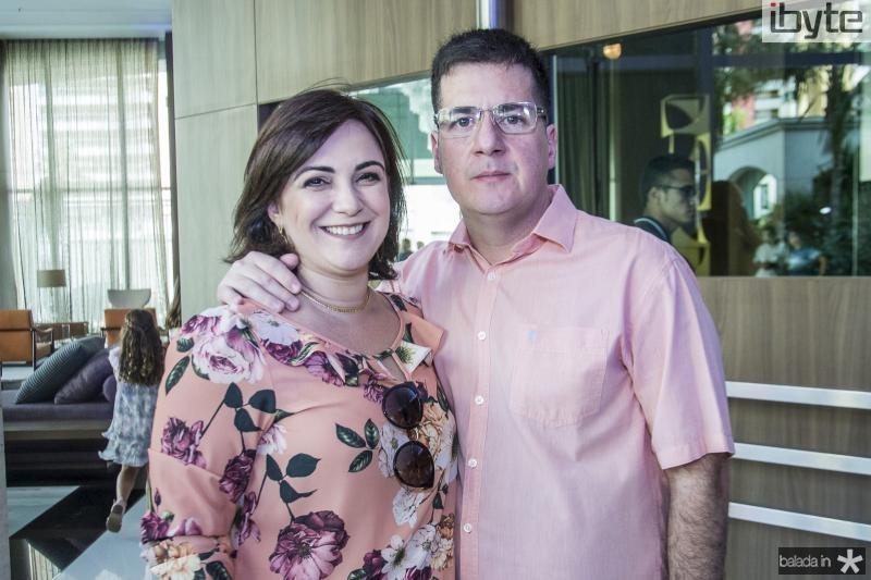 Luana e Eduardo Gadelha