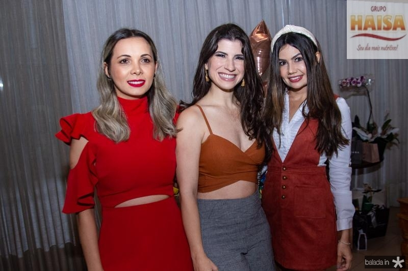Andreia Gentil, Themis Briand e Lorena Baecker