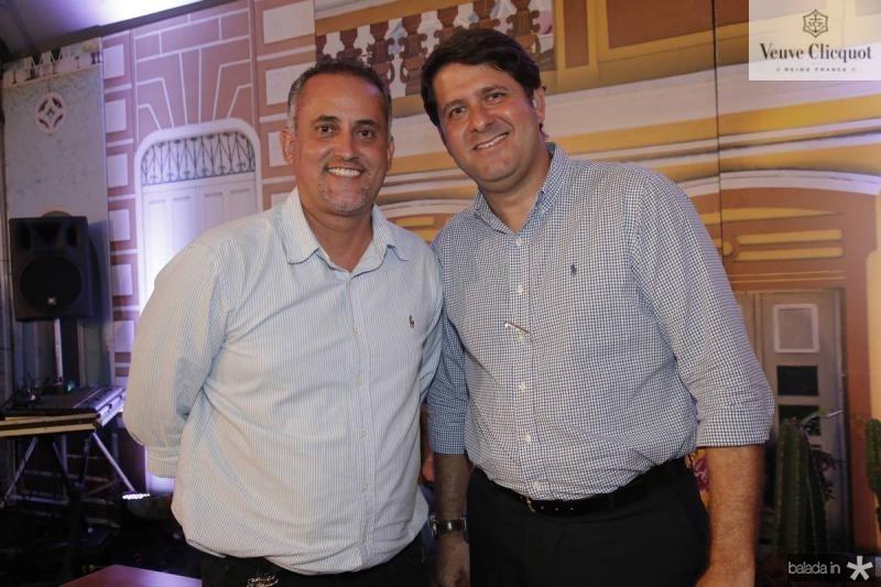 Paulo Henrique e Rafael Rodrigues