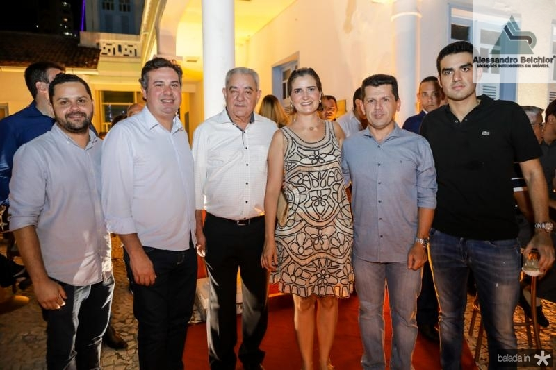 Davi Gomes, Samuel Dias, Adail Fontenele, Manoela Nogueira, Erick Vasconcelos e Rodrigo Nogueira