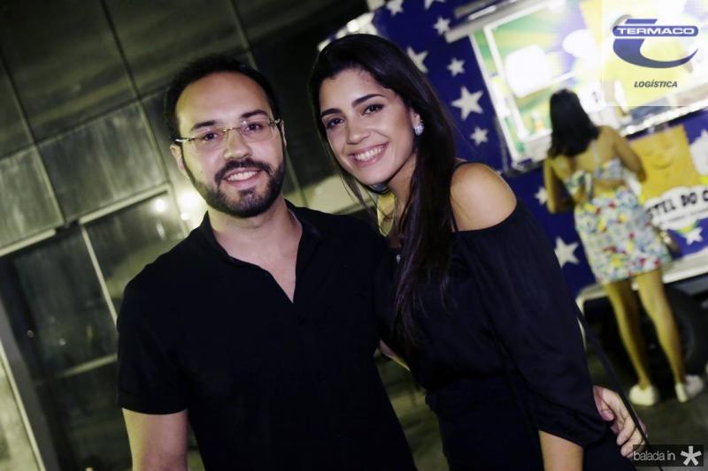 Iago Peixoto e Lara Costa
