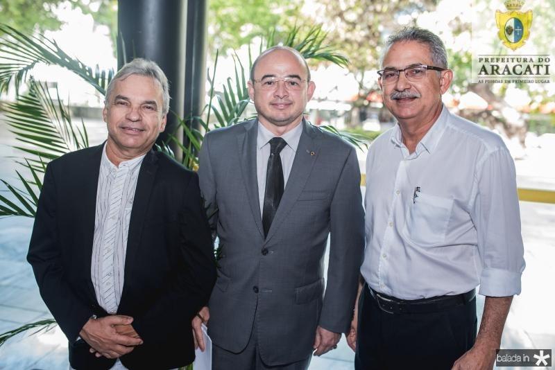 Eron Moreira, Sergio Aguiar e Vinicio Diniz