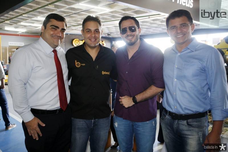 Gabriel Magalhaes, Bruno Bastos, Andre Vitor e Geraldo Sa