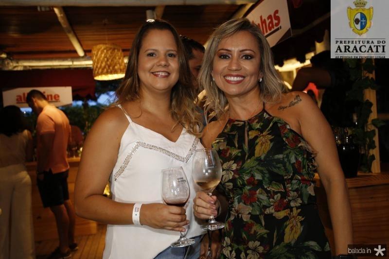 Cristiane Andrade e Marilene Gondim