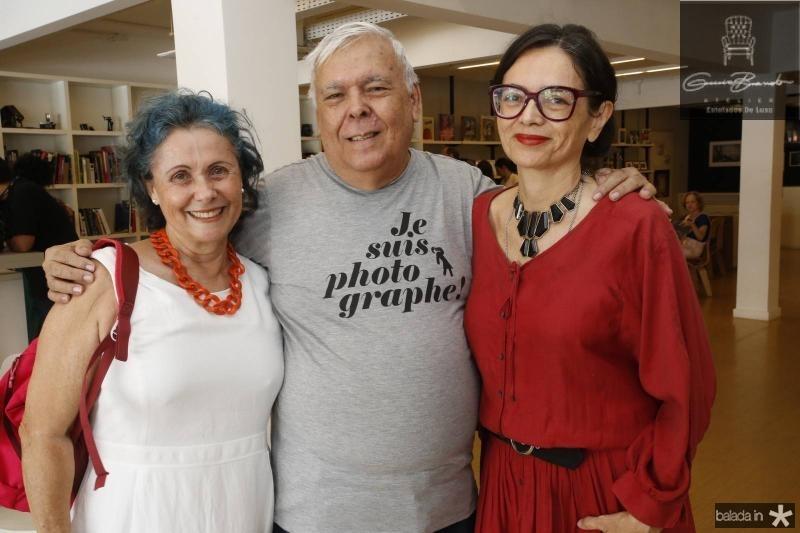 Diana Pinheiro, Franze Santos e Izabel Gurgel