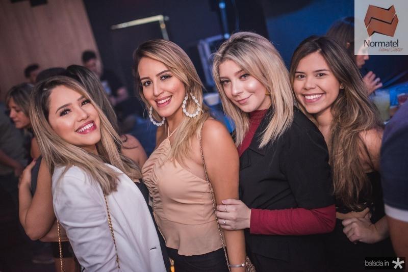 Isabele Narciso, Alana Norte, Ana Noelia e Amanda Alves