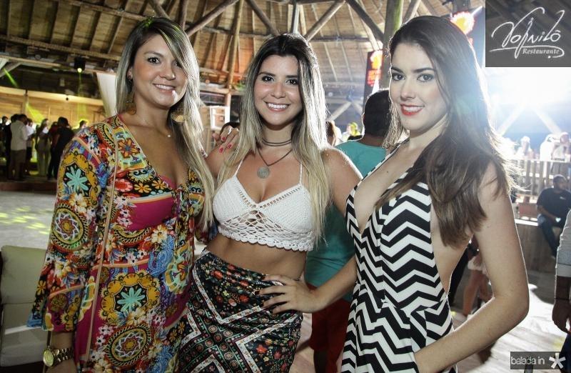 Helen Sales, Rafaela Bandeira e Jessica Campos