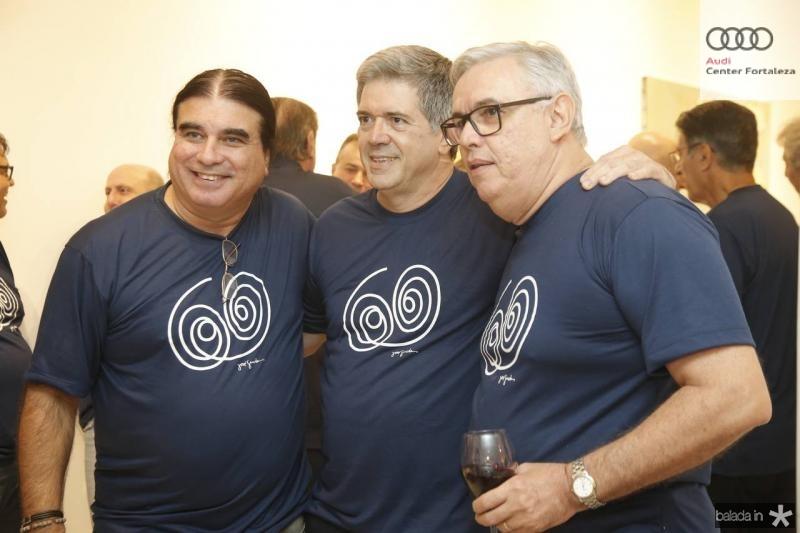 Fernando Pessoa, Fernando Melo e Fernando Siqueira,