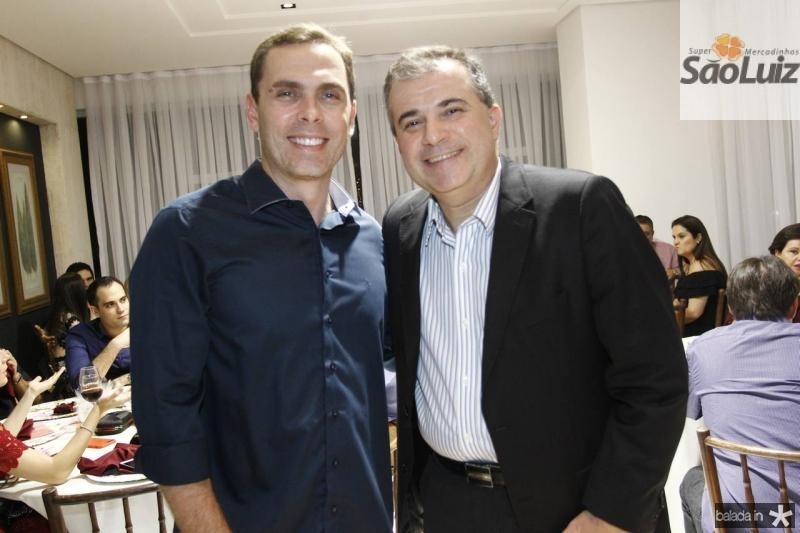 Carlos Fiuza e Ricardo Bezerra