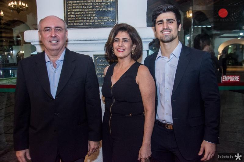 Amarilio, Samia e Amarilio Neto Cavalcante