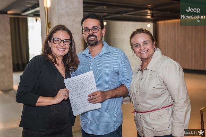 Marcela Lacerda, Neno Sampaio e Toca Couta