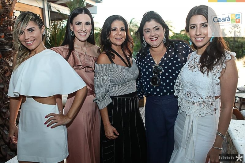 Grazi Nogueira, Giuliana Botelho, Maria Lucia Negrao, Viviane Almada e Tayra Romcy