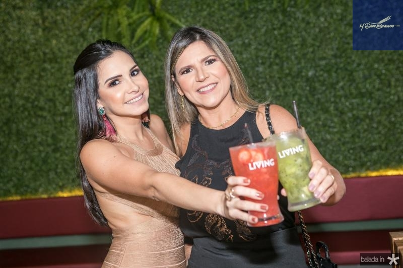 Ticiana e Claudia Rolim
