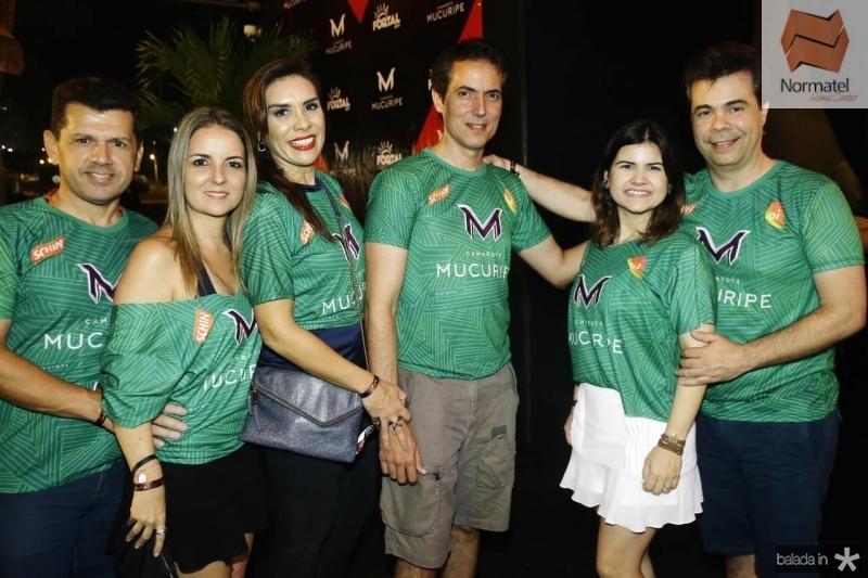 Erick e Raquel Vasconcelos, Ane e Leo Alcantara, Ticiana e Duda Brigido