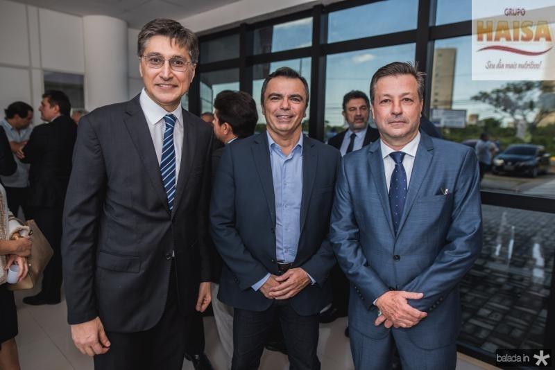 Hugo Figueiredo, Juvencio Viana e Fernando Alfredo Franco