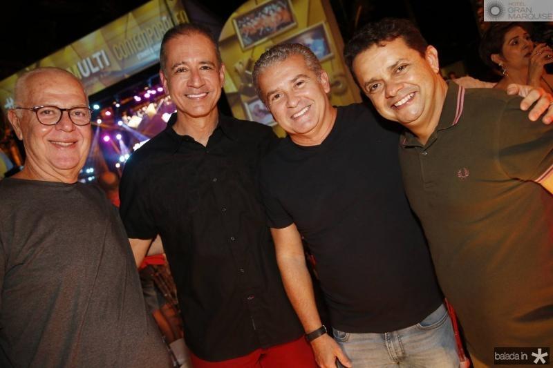 Humberto Lima, Regis Medeiros, Celio Tomaz e Germano Albuquerque