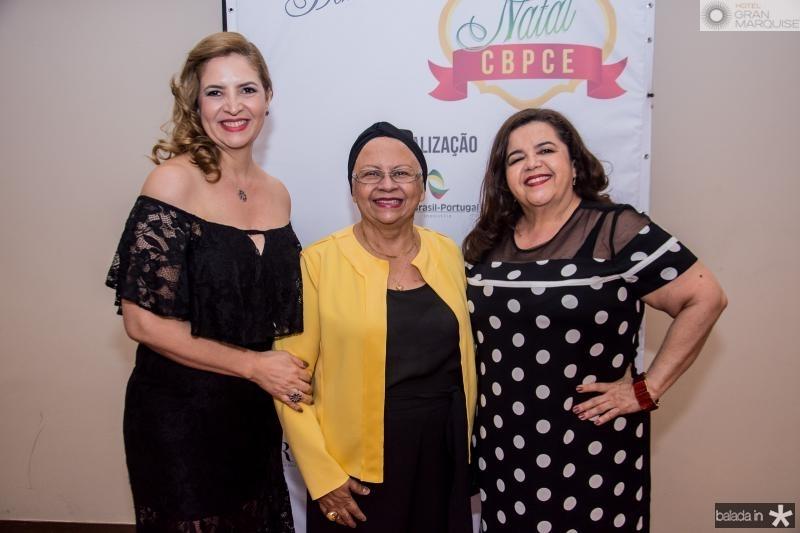 Enid Camara, Gloria Ribeiro e Clivania Teixeira