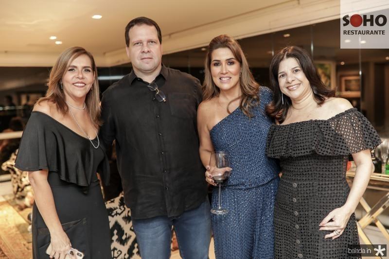 Ailza e Edson Ventura Filho, Vladia Sales e Luciana Lobo