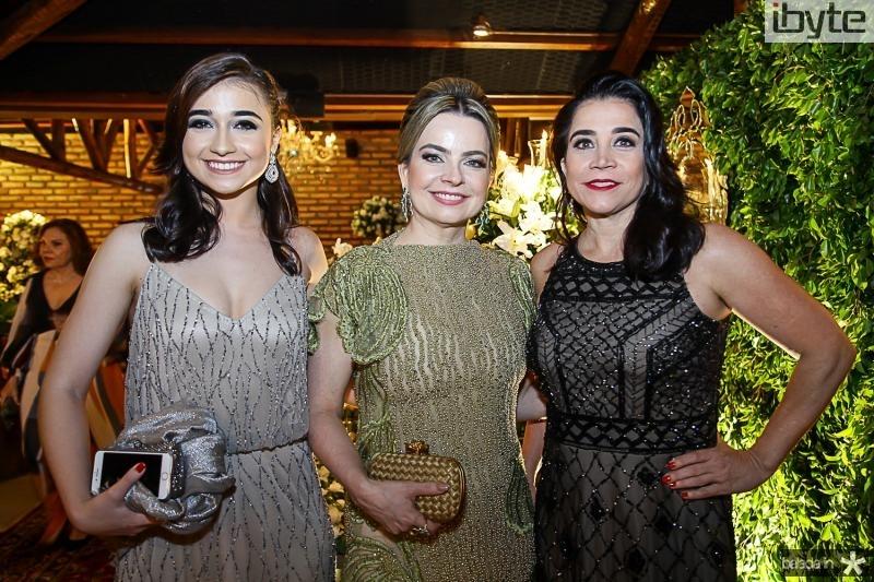 Isabella Russo, Daniela Barreira e Carina Russo