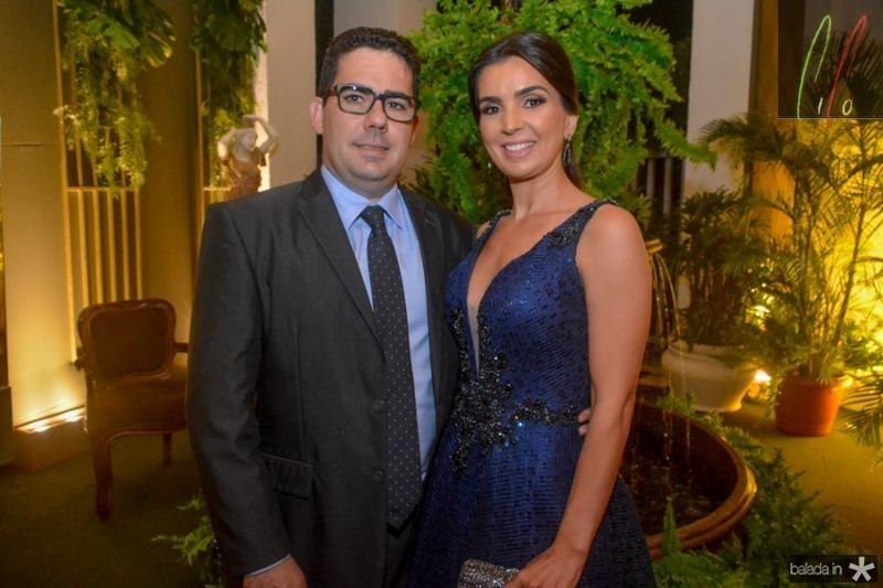 Paulino e Erika Aguiar