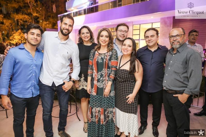 Lincoln Linhares, Rene Pinheiro, Cristianne Carla, Tatiana Brasil, Raphael Castro, Satila Bezerra, Fernando Linhares e Fabio Pereira