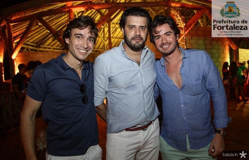 Rodrigo Carvalho, Bernardo Borges e Ivens Dias Branco