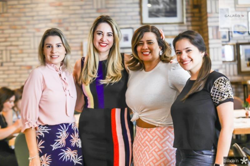 Jessica Rocha, Renata Oliveira, Montielli Arruda e Juliana Alexandre