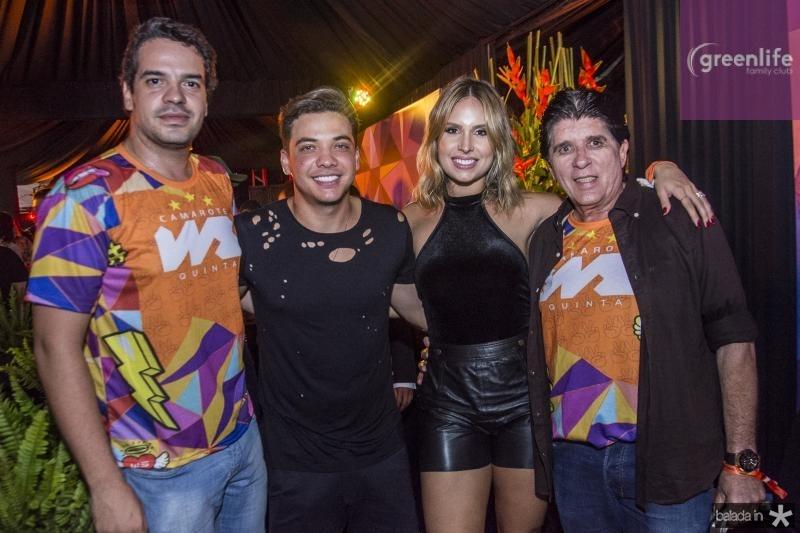 Thiago Holanda, Wesley Safadao, Thyane Dantas e Dito Machado