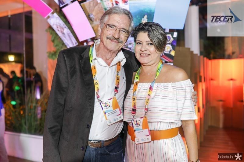 Frederico Dickie e Simone Ivo