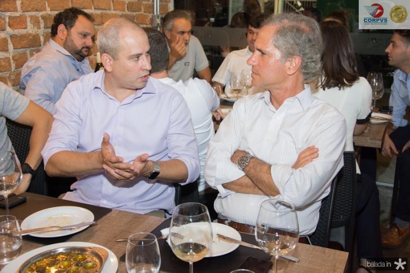 Andre Linheiro e Andre Bichucher