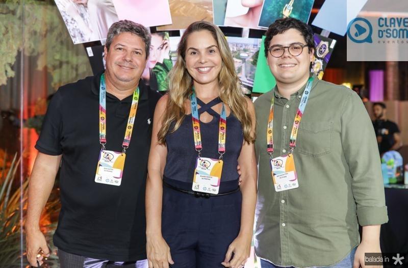 Bob, Rivana e Bob Santos Filho