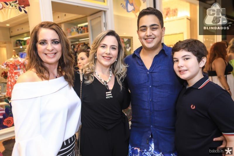 Marcia Andrea, Suyane Dias Branco, Rafael Ponto e Joao Claudio Dias Branco