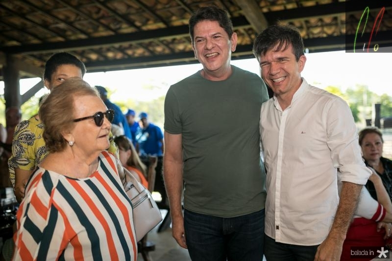 Doninha Feitosa, Cid Gomes e Waldonys