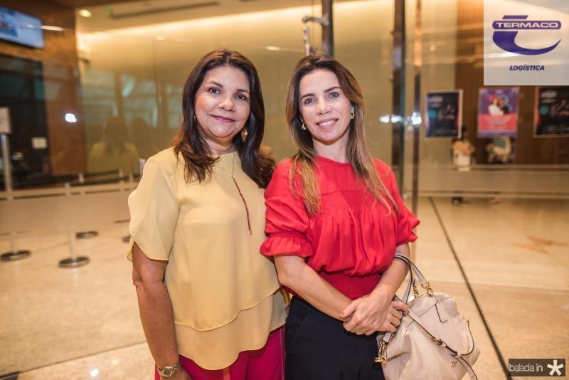 Celina Castro Alves e Suemi Vasconcelos