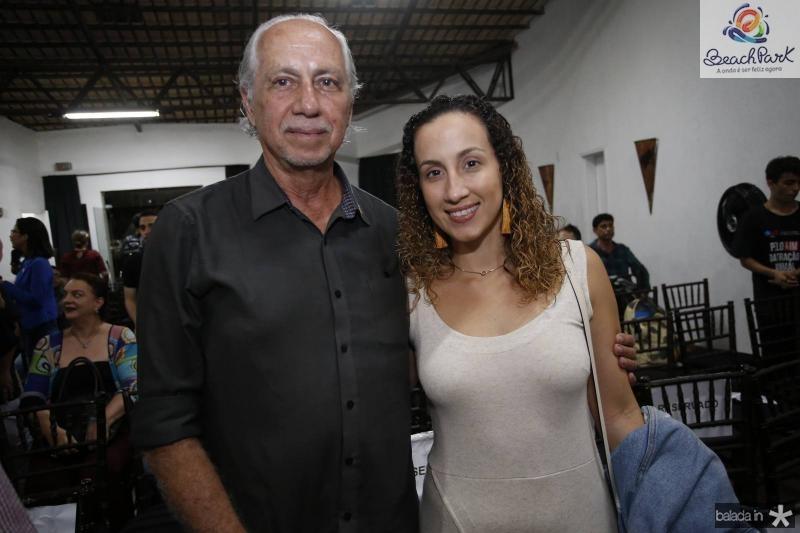 Marcos de Castro e Sacha Rivers