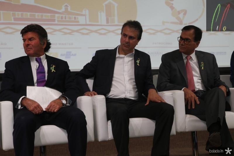 Luiz Fux, Camilo Santana e Beto Studart 2