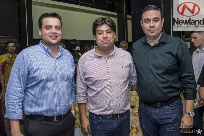 Novack Neto, Leonardo Farias e Joao Aguiar