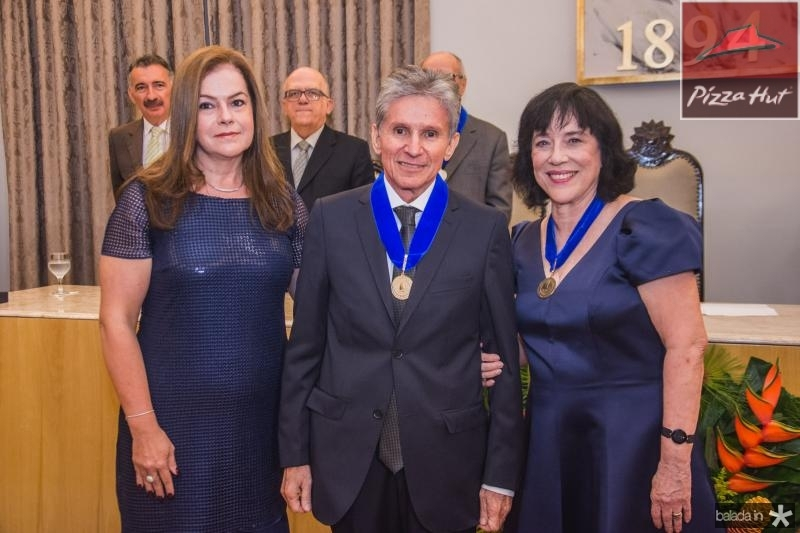 Jo Lopes, Padua Lopes e Angela Gutierrez