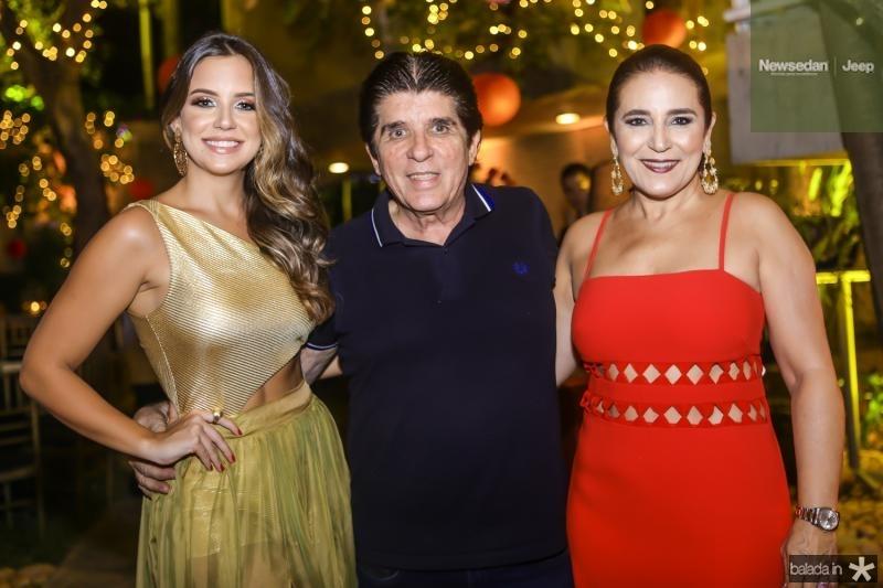 Fernanda Levy, Dito Machado e Patricia Macedo