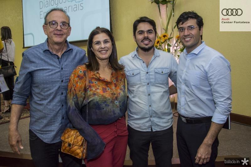 Sergio Fiuza, Gina Fiuza, Pedro Lima e Antonio Alberto Dias