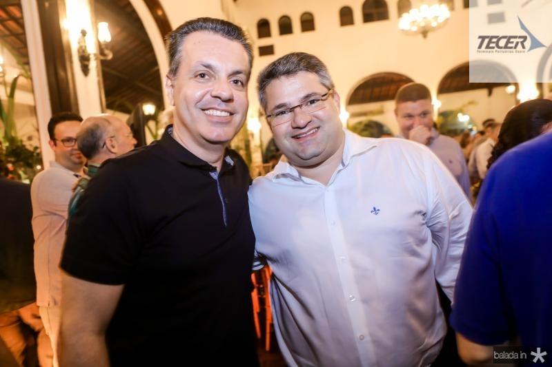 Leonardo D´allolio e Mario Queiros