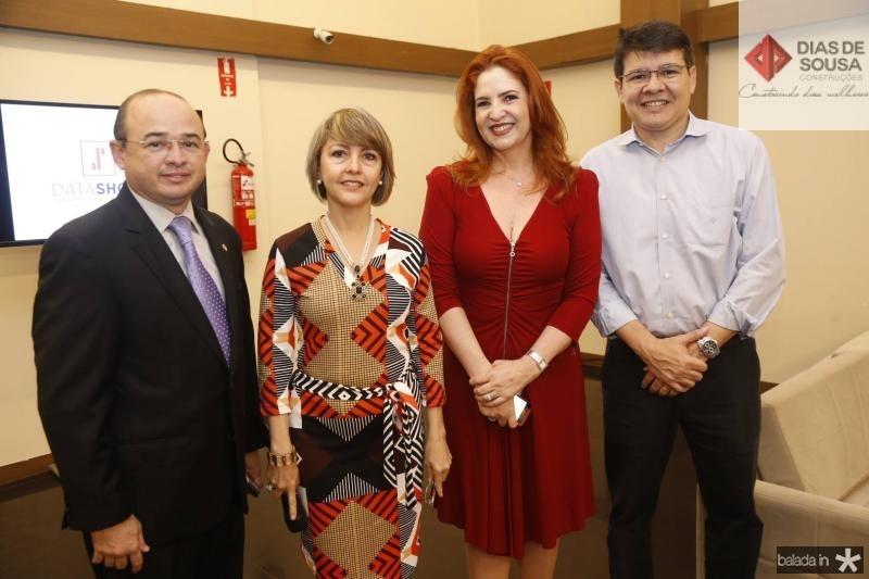 Sergio Aguiar, Circe Jane, Enid Camara e Silvio Carlos