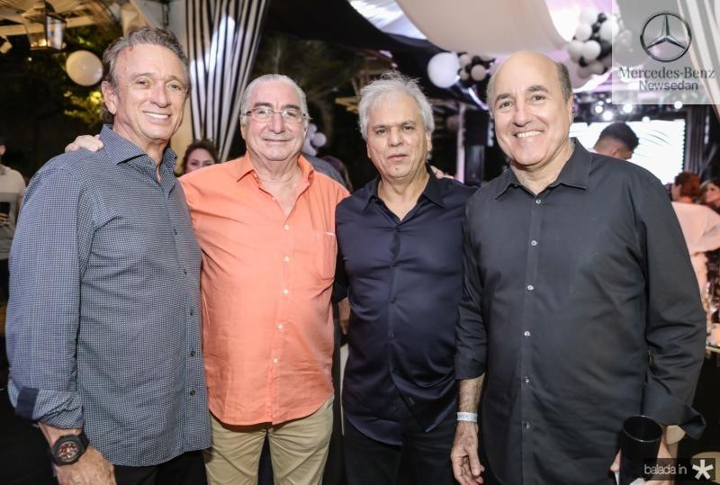 Erivaldo Arrais, Murilo Belchior, Ricardo Rolim e Silvio Frota