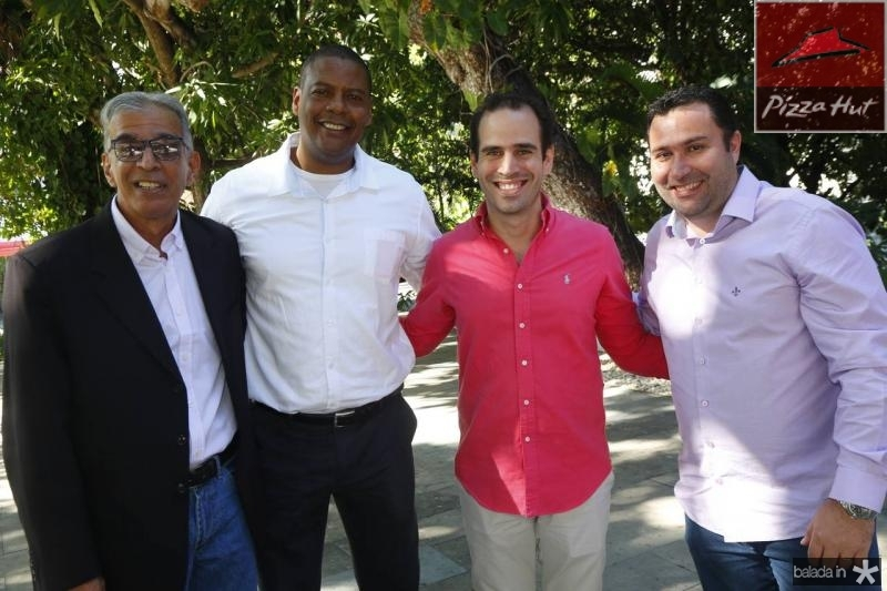 Cabral Junior, Roberto Silver, Ivan Dias e Fabiano Alves
