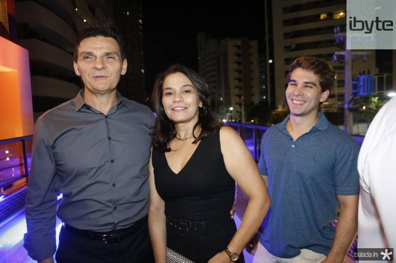 Max Bezerra, Margarida Alves e Daniel Eloy